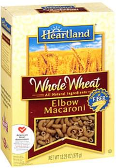 Heartland Whole Wheat Spaghetti Product Elbow Macaroni