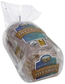Shiloh Farms Bread Five Grain, Organic Sprouted
