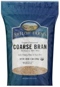 Shiloh Farms Bran Unprocessed Coarse, Organic