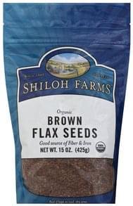 Shiloh Farms Flax Seeds Organic, Brown