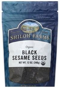Shiloh Farms Sesame Seeds Organic, Black