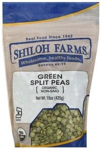 Shiloh Farms Peas Organic, Green Split