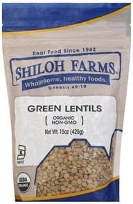 Shiloh Farms Lentils Organic, Green