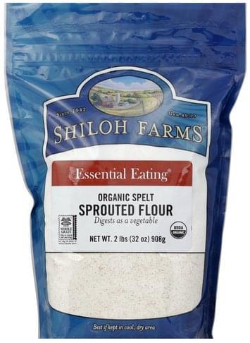 Shiloh Farms Sprouted, Organic Spelt Flour - 32 oz