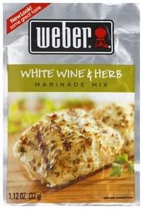 Weber Marinade Mix White Wine & Herb