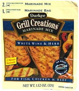 Durkee Marinade Mix, White Wine & Herb