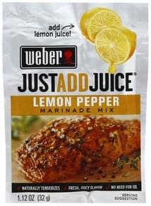 Weber Marinade Mix Lemon Pepper