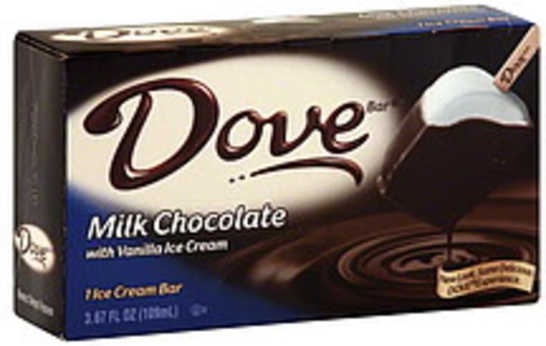 Milk Chocolate with Vanilla Ice Cream