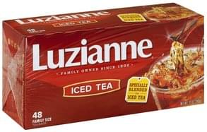Luzianne Iced Tea Bags, Family Size