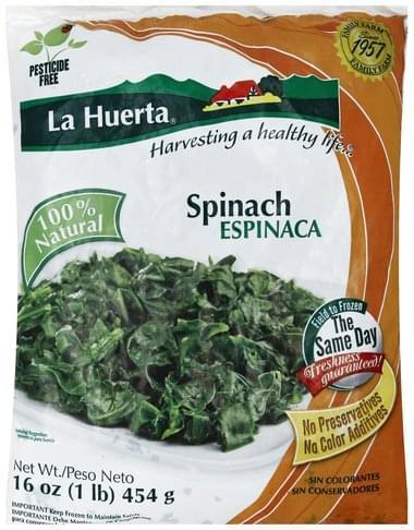 La Huerta Spinach - 16 oz