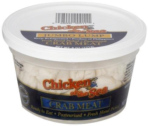 Chicken of the Sea Jumbo Lump Crab Meat - 8 oz