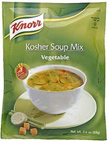 Knorr Vegetable Kosher Soup Mix - 2.4