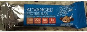 GNC Total Lean Advanced Protein Bar Chocolate Chip