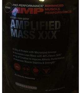 GNC Pro Performance AMP Cookies & Cream Advanced Muscle Performance