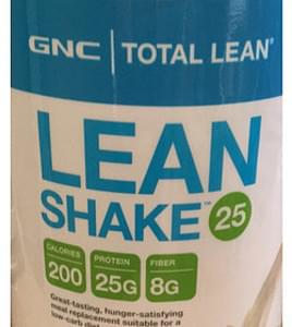 GNC Lean Shake 25 French Vanilla