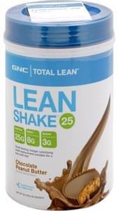 Gnc Lean Shake 25 Chocolate Peanut Butter