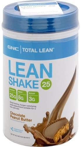 GNC Chocolate Peanut Butter Lean Shake 25 - 29.3 oz