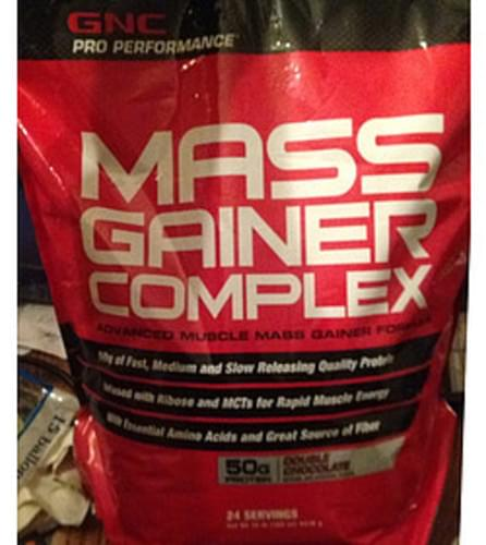 GNC Pro Performance AMP Gainer Complex Fomula MassDouble Chocolate - 182 g