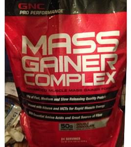 GNC Pro Performance AMP MassDouble Chocolate Gainer Complex Fomula