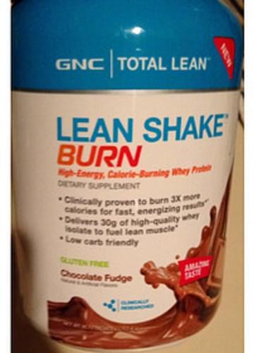 Gnc Total Lean Gluten Free Lean Shake Burn 47 35 G Nutrition Information Innit