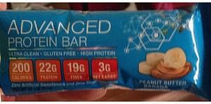 Advanced Health Systems Protein Bar Peanut Butter Banana