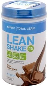 GNC Lean Shake 25 Rich Chocolate