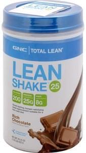 Gnc Lean Shake 25 Rich Chocolate
