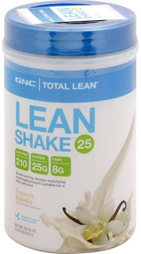 GNC French Vanilla Lean Shake 25 - 29.35 oz