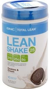 Gnc Lean Shake 25 Cookies & Cream