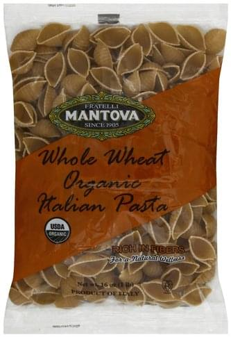 Fratelli Mantova Italian, Organic, Whole Wheat Pasta - 16 oz