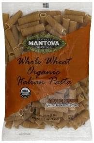 Fratelli Mantova Rigatoni Organic, Whole Wheat, No. 24