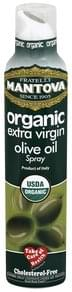 Mantova Olive Oil Extra Virgin, Organic, Spray