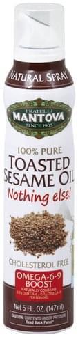 Mantova Toasted, Natural Spray Sesame Oil - 5 oz