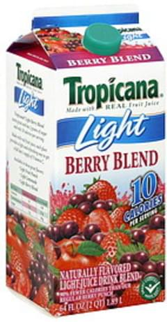 Tropicana Juice Drink Light, Berry Blend