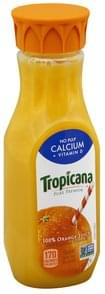 Tropicana 100% Juice Orange, Calcium + Vitamin D, No Pulp