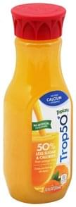 Tropicana Juice Beverage Orange, No Pulp Calcium + Vitamin D