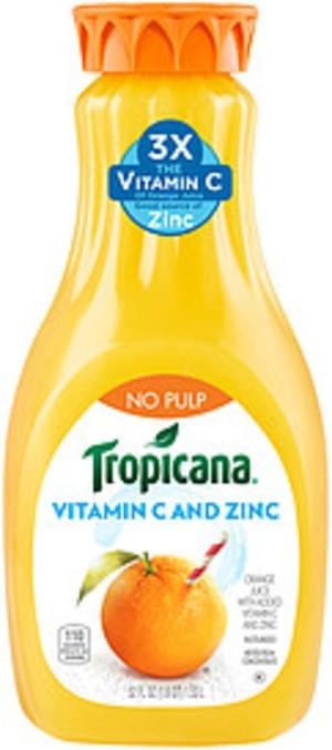 Tropicana No Pulp Orange Tropicana No Pulp Orange Juice - 0