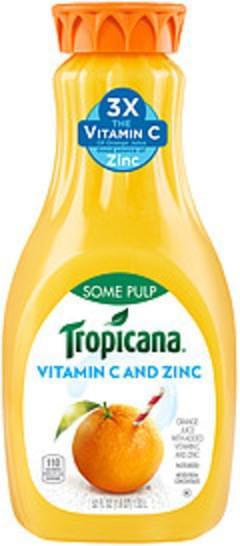 Tropicana Tropicana Some Pulp Orange Juice Some Pulp