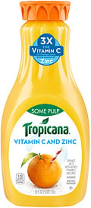 Tropicana Some Pulp Tropicana Some Pulp Orange Juice - 0