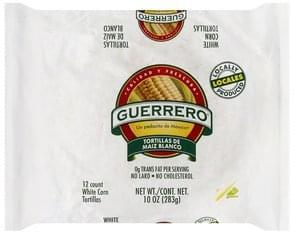Guerrero Tortillas White Corn