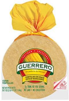 Guerrero Tortillas Corn