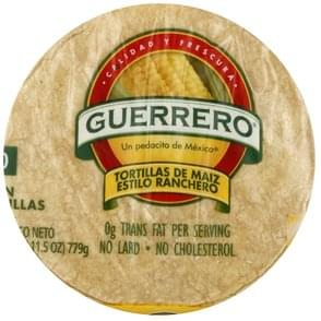 Guerrero Tortillas Corn