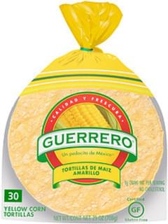 Guerrero Tortillas Yellow Corn