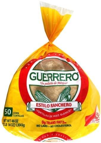 Guerrero Corn Tortillas - 50 ea