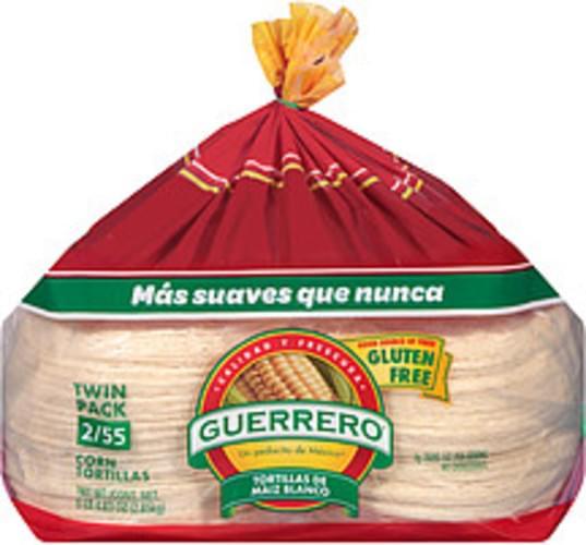 Guerrero White Corn Tortillas - 6.3 lb