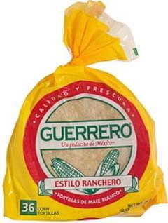 Guerrero Corn Tortillas Ranchero Style