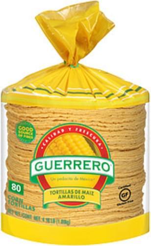 Guerrero Tortillas De Maiz Amarillo Guerrero Tortillas De Maiz Amarillo Corn Tortillas - 0