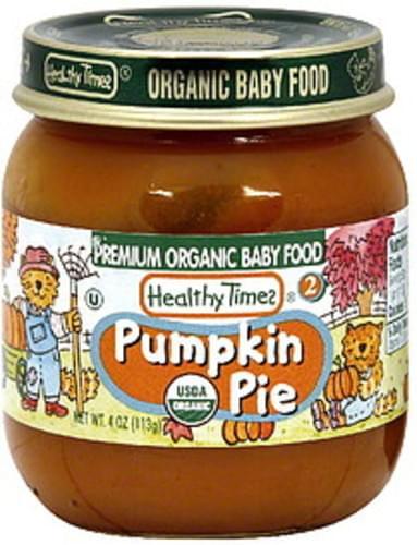 Healthy Times Stage 2 Pumpkin Pie - 4 oz