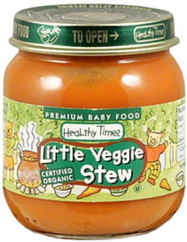 Healthy Times Little Veggie Stew - 4 oz