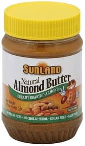 Sunland Almond Butter Creamy Roasted Almond